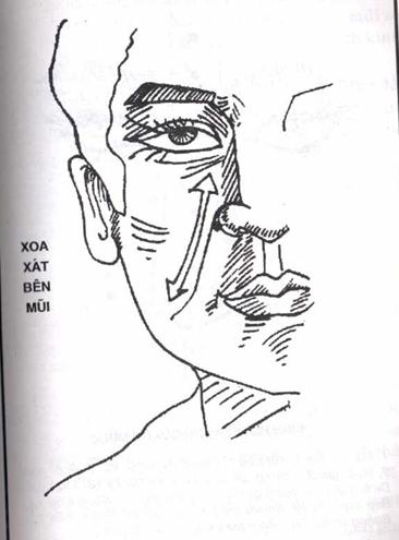 Xoa xát bên mũi